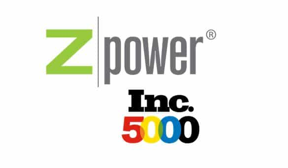 zpower inc 5000 list