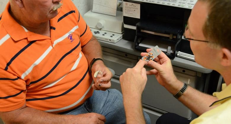 audiologist hearing aid fitting study