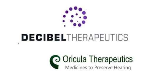 decibel therapeutics hearing loss drug license oricula