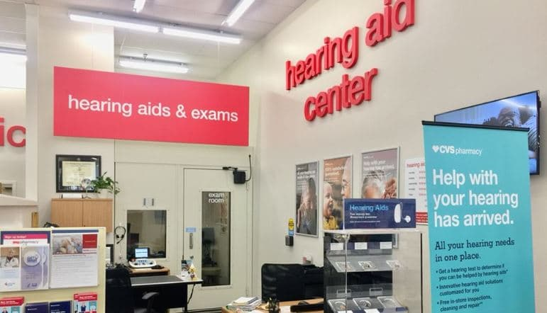 cvs hearing aid clinics closing