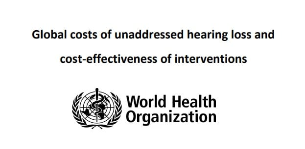 world health hearing loss report