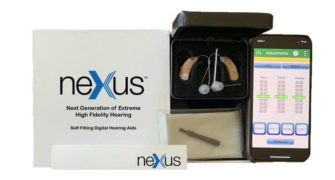 nexus hearing aids self fitting