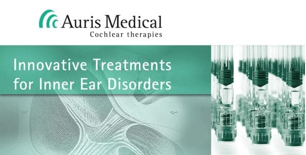 auris medical tinnitus drug