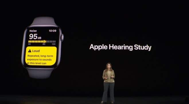 apple hearing health study