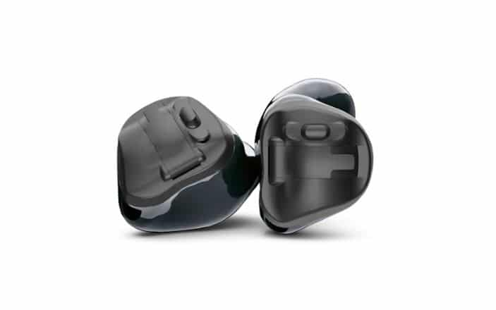 phonak virto black hearing aid hearable