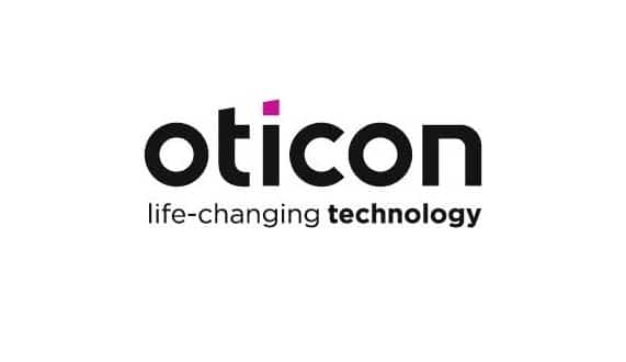 new oticon logo branding