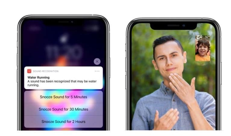 apple facetime sign language detection
