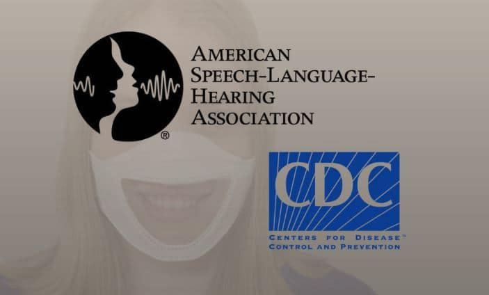 cdc updated mask guide hearing loss