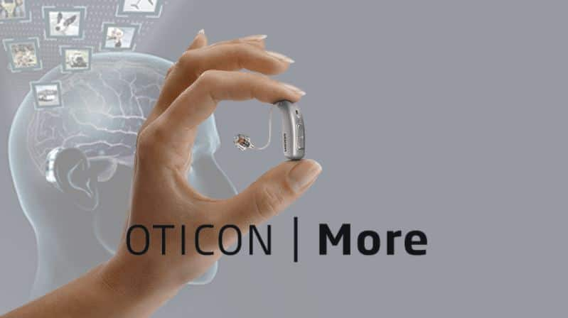 oticon more hearing aids deep neural network