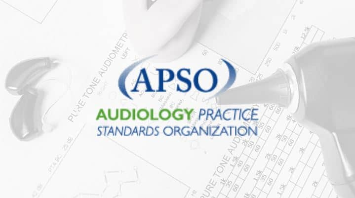apso hearing aid fitting standards