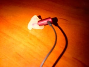 In-ear monitor without #13 tubing