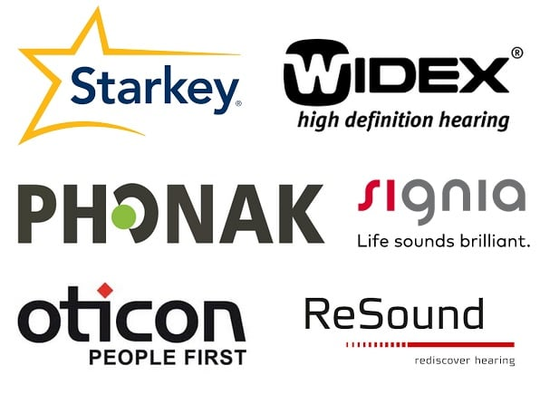 big six hearing aid companies