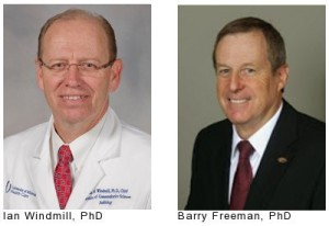 L - Ian Windmill, PhD; R - Barry Freeman, PhD