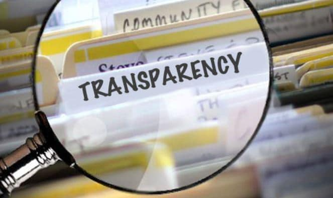 audiology transparency