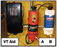 A and B Batteries