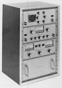 Figure 17. Vicon Hearing Instrument Analyzer, promoted as a complete acoustic laboratory designed for measuring the performance characteristics of hearing instruments. The separate units of the Analyzer could be purchased separately, with additional components added later.