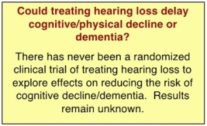 Treatment for Dementia?