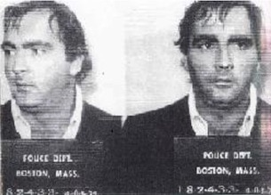 Figure 8. Brian Halloran, Mafia member who was offered $30,000 to kill Roger Wheeler, declined, and later offered to turn State's evidence against the Mob, including information about the death of Roger Wheeler. He, and the man who offered him the hit were both murdered.