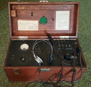 Figure 2.  The Western Electric 2-A Audiometer.