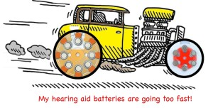 Car and Battery Tires